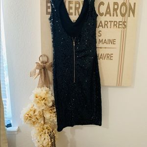Guess Sequined Mini Dress